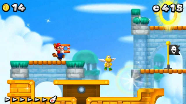 New Super Mario Bros. 2 Gold Edition screenshot 2