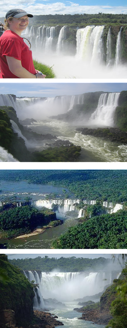Iguazu Falls is the 7th Natural Wonder of the World