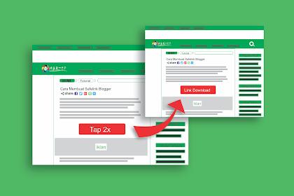Cara Membuat Safelink Blogger Klik 2x Random Artikel Cocok Untuk Adsense.