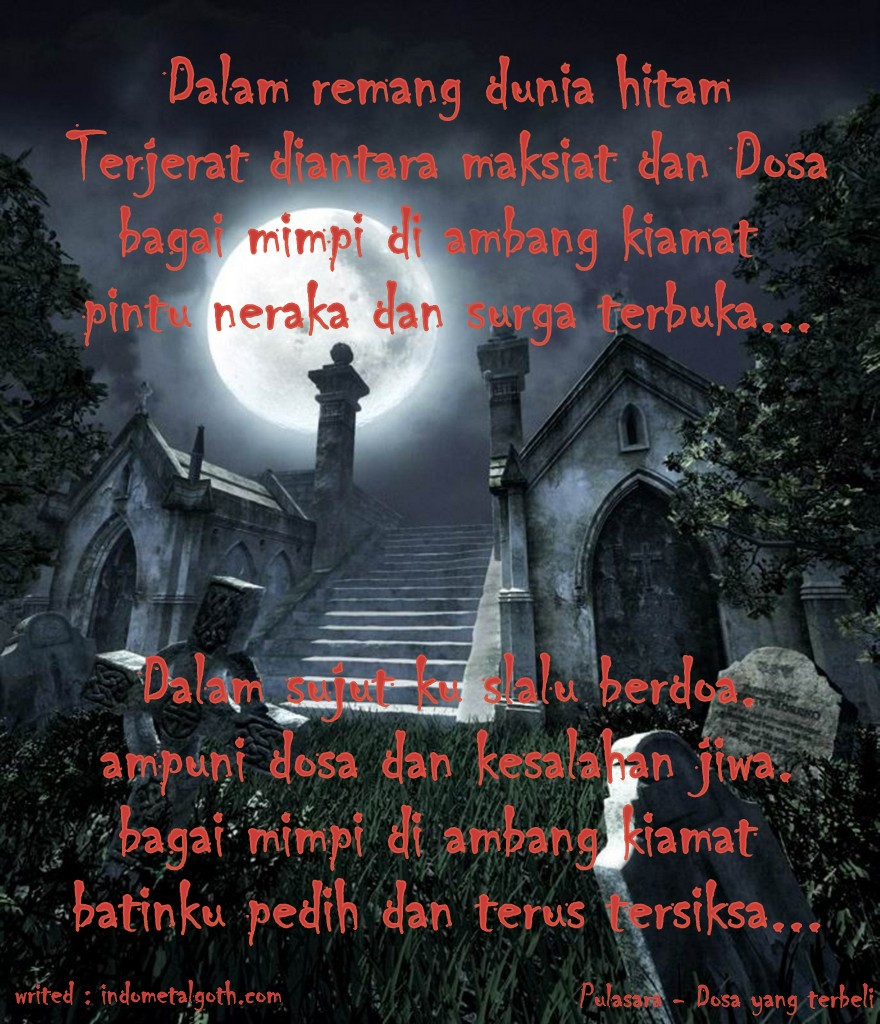 Gothic Poetry / Syair Gothic
