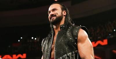 Drew WWE Turn Face Push Raw Claymore