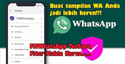 Download WhatsApp Mod Fmwa Versi Terbaru 2021