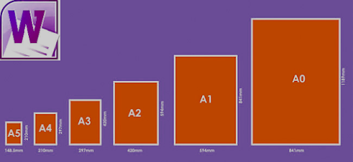 Cara Mengatur Ukuran Kertas Di Microsoft Office Word ( A4, F4, Letter, Legal, A3 dll)