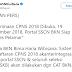 Penerimaan CPNS 2018 Dibuka 19 September 2018