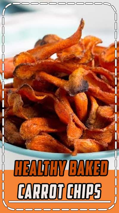 Healthy Baked Carrot Chips Recipe! Get your crunchy chip-fix without ruining your diet! These gluten free, low fat snacks are easy to make and easy to love! #aspicyperspective #glutenfree #paleo #vegan #vegetarian #healthy #carrotrecipes #healthychips #carrotchips