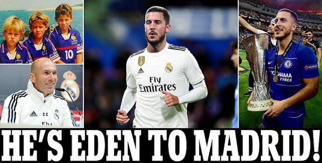 """Siêu """"bom tấn"""" hot nhất Hazard về Real: 130 triệu bảng, đắt nhất lịch sử"""
