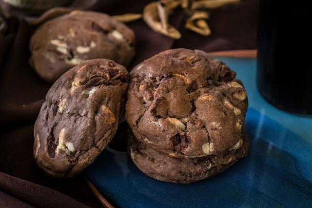 Cookies de 3 Chocolates