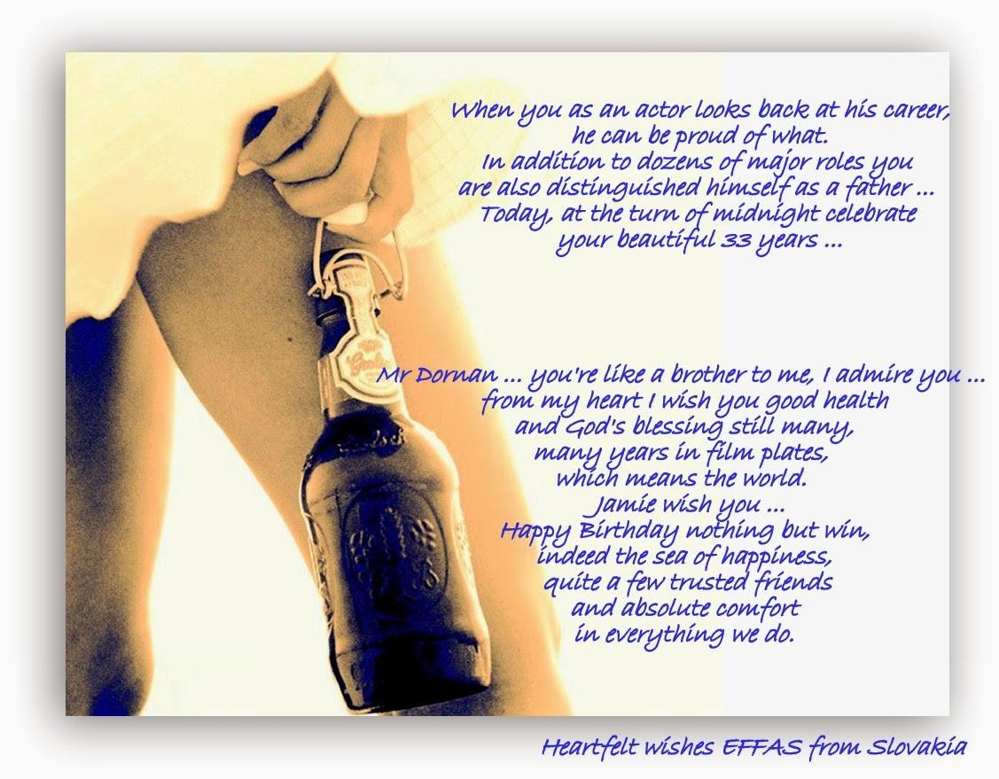 Jamie Dornan Life: Happy 33rd Birthday Jamie!