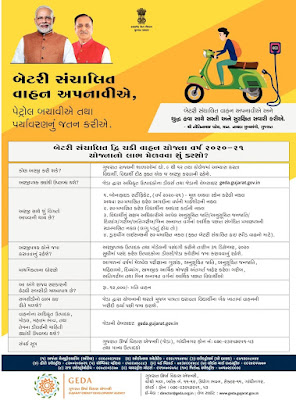 GUJARAT ELECTRIC VEHICLES SUBSIDY SCHEME