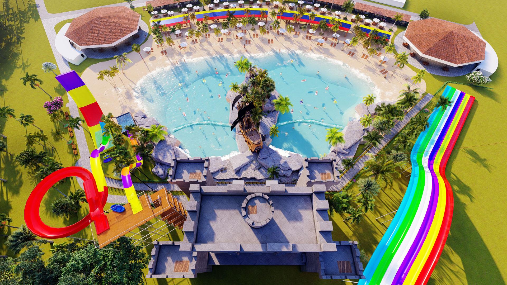 São José da Lapa instala Parque Aquático e espera receber mais de 500 mil Turistas por ano