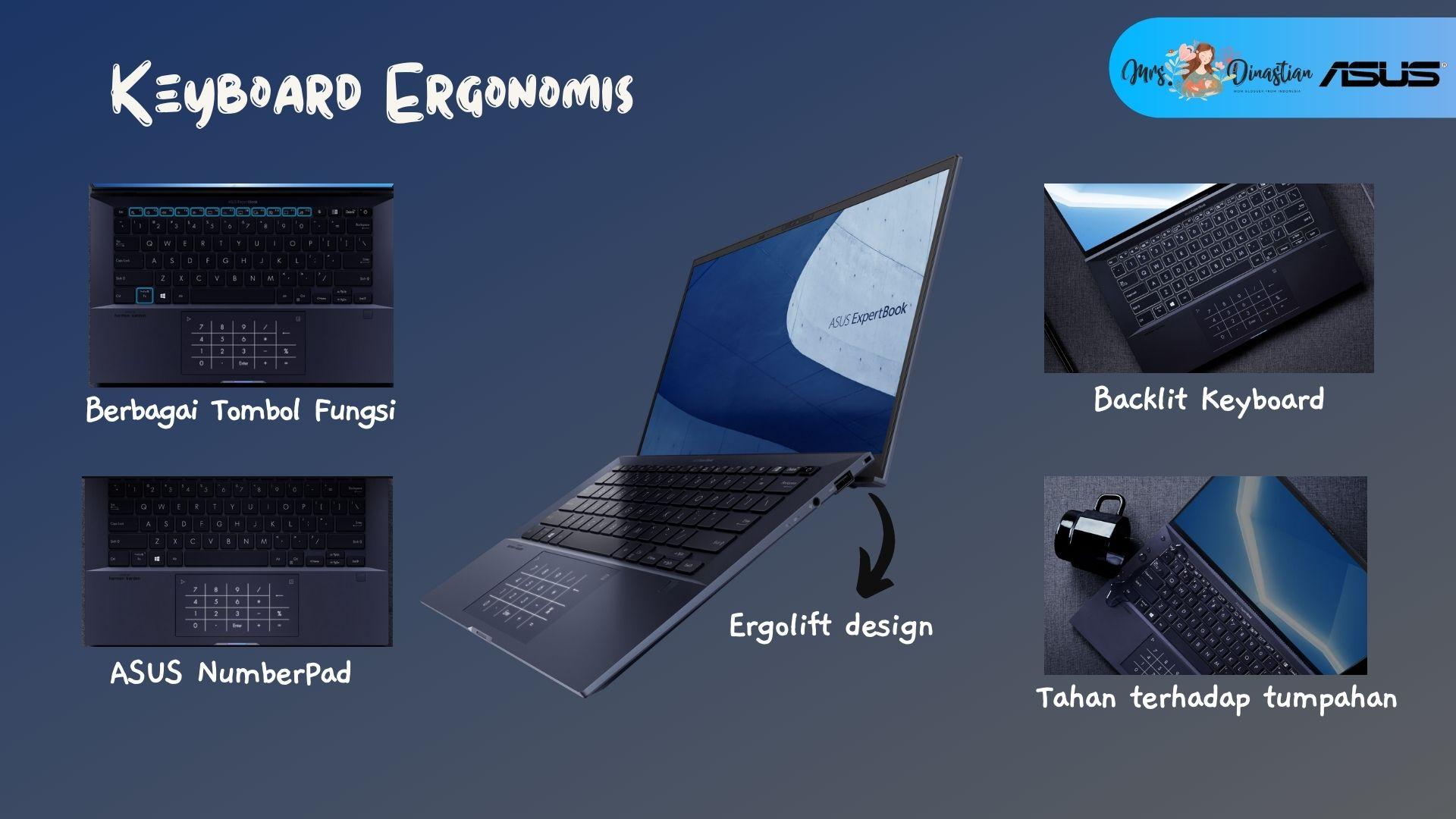 Keyboard ASUS ExpertBook B9400