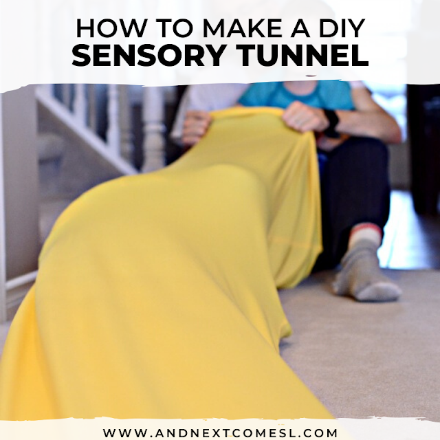 Sensory tunnel autism hack with full tutorial