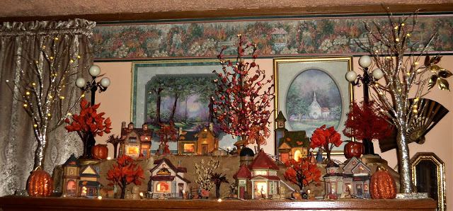 Autumn Entry and Village in the Living Room, 2019