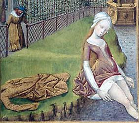 from the 1473 Book of Hours of Anne de France