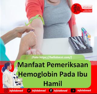 Manfaat Pemeriksaan Hemoglobin Pada Ibu Hamil