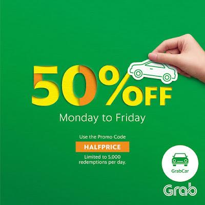 GrabCar Discount Promo Code Penang Johor Bahru Kota Kinabalu Melaka