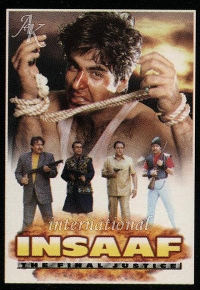Insaaf: The Final Justice (1997) Hindi 480p | 720p HDRip 400MB | 1.1GB Download