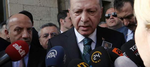 Ο Ερντογάν θέτει εμμέσως θέμα ανταλλαγής των 2 Ελλήνων με τους 8 Τούρκους