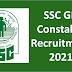SSC GD constable recruitment 2021 40,000 -50,000 শূন্যপদে বিজ্ঞপ্তি প্রকাশিত হতে চলেছে