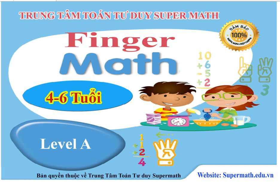 Giáo trình finger math