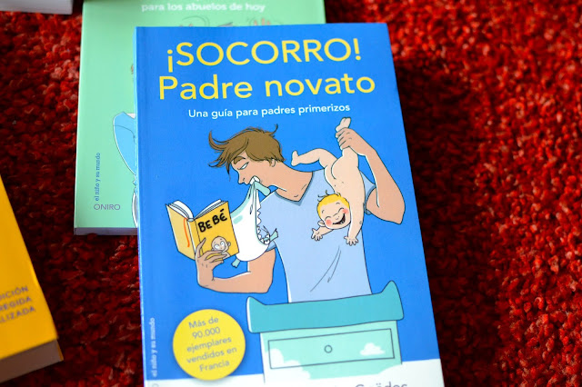 ¡Socorro! Padre novato libro paternidad