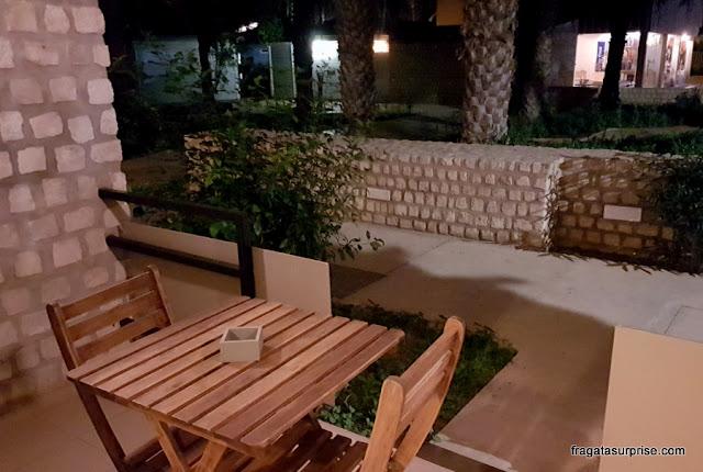 Varanda do apartamento do Hotel Oásis Belorizonte, Ilha do Sal,Cabo Verde
