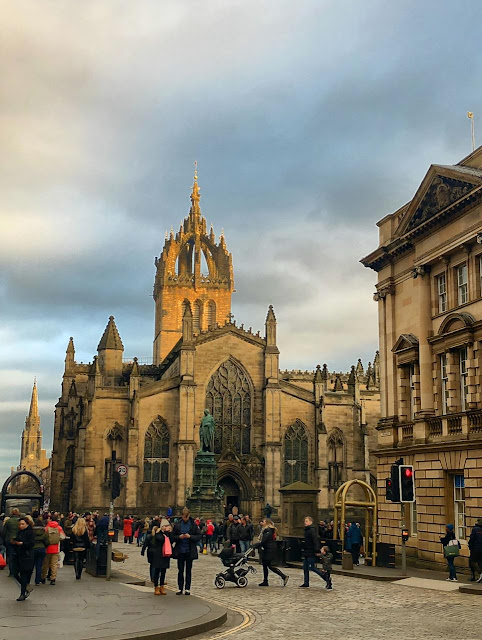 St Giles Cathedral, em Edimburgo