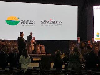 """ACIAR participa no Palácio dos Bandeirantes  de lançamento do projeto """"Vale do Futuro"""""""