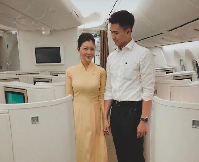 Dàn tiếp viên hàng không, phi công, cơ trưởng toàn trai xinh gái đẹp
