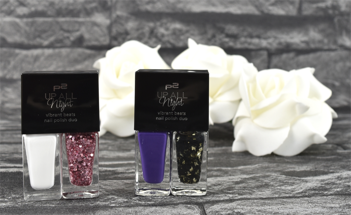 p2 cosmetics - 'UP ALL Night' Limited Edition - vibrant beats nail polish