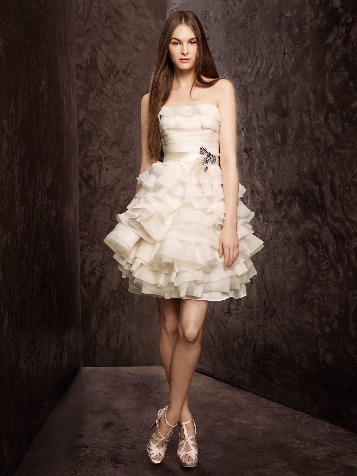 418e4c809776 White By Vera Wang Short Sleeve Lace Dress - raveitsafe