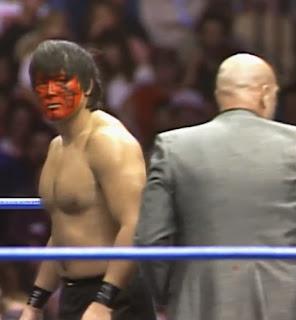 NWA Wrestlewar 1989 - The Great Muta beat Doug Gilbert