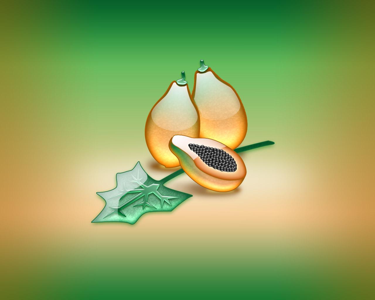 aqua papaya wallpaper abstract - photo #4