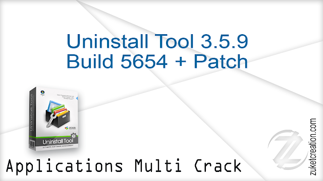 Uninstall Tool 3.5.9 Build 5654 + Patch
