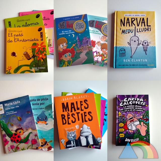 6 colecciones de libos para primeros lectores