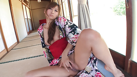 Asian girl sucking cock in sloppy manners