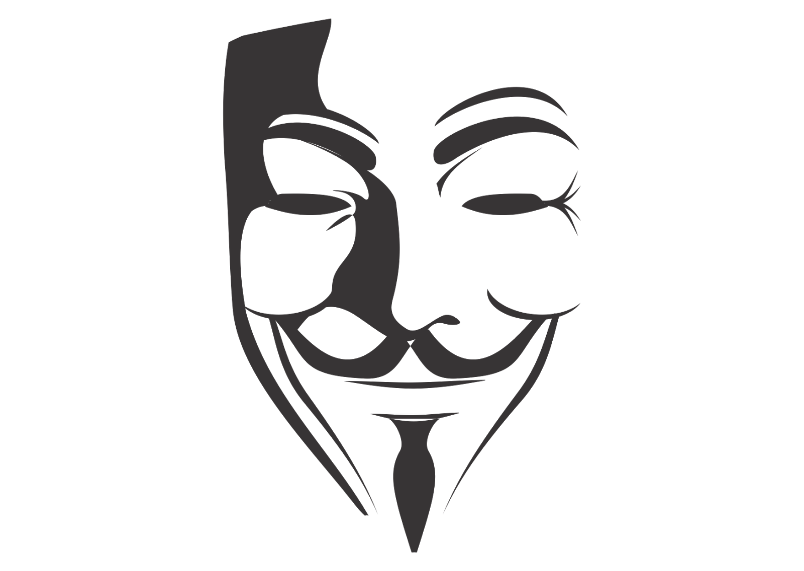 V for Vendetta Logo Vector~ Format Cdr, Ai, Eps, Svg, PDF, PNG