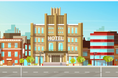 قصة بالانجليزي قصيرة فندق بيرج The Berg Hotel