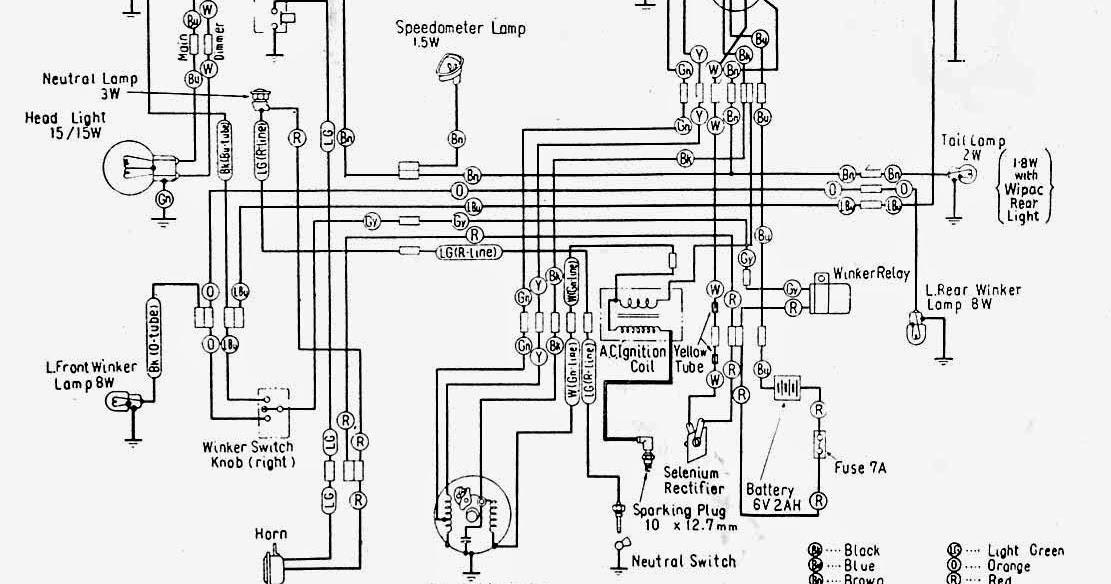 Wiring Diagrams And Free Manual Ebooks: Honda C100 Wiring