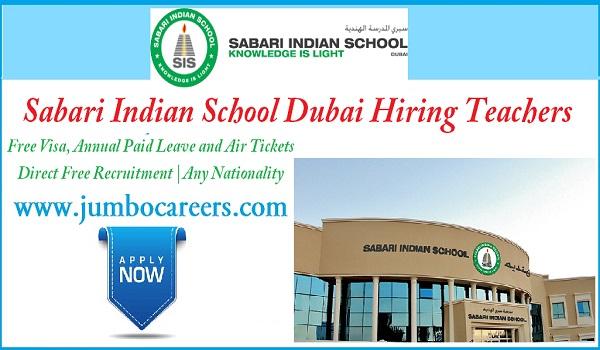 Latest school jobs in Dubai, Available  teachers vacancies in UAE,