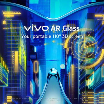 "VIVO AR GLASS | YOUR PORTABLE 110"" 3D SCREEN"