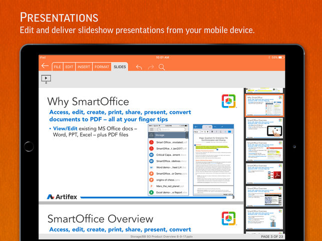 top android apps for office