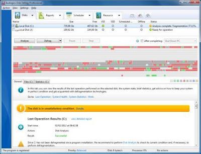 Auslogics Disk Defrag Pro 4.0.1.50