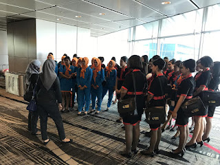 briefing di bandara changi