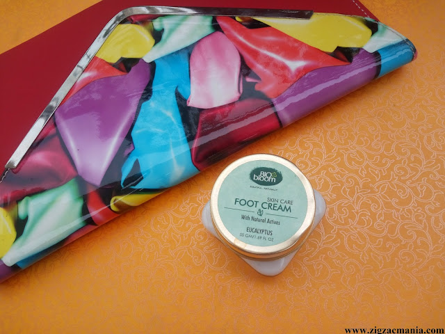 Bio Bloom Foot Cream (Eucalyptus) Review