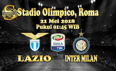 AGEN BOLA ONLINE TERBESAR - PREDIKSI SKOR SERIE A ITALIA LAZIO VS INTER MILAN 21 MEI 2018