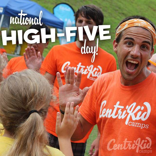 National High Five Day Wishes Photos