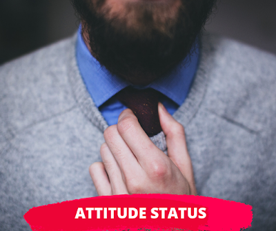 Status About Attitude For Whatsapp in English