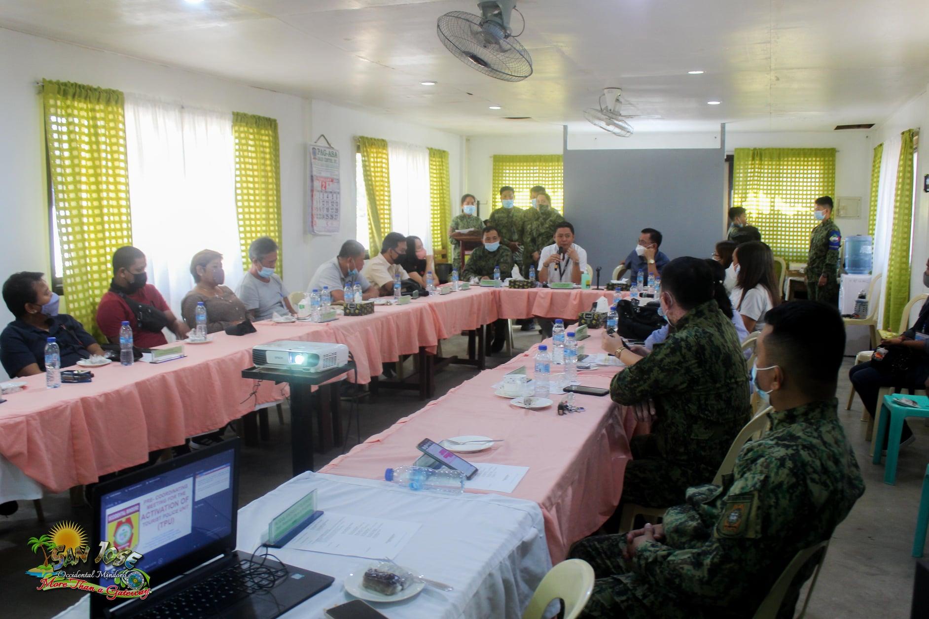 Activation of the San Jose Tourist Police Unit - Occidental Mindoro