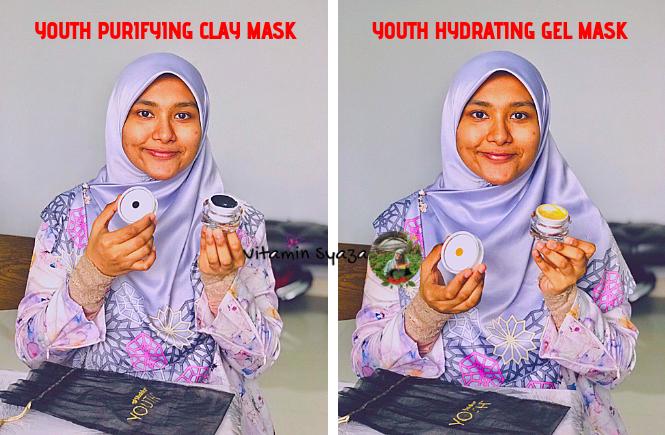 review pengalaman sendiri menggunakan youth masker mask muka keluaran shaklee